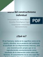 Teoría del constructivismo individual