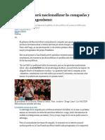 17-08-Macri buscará nacionalizar la campaña y ganar protagonismo