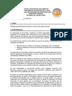 MODELOS MATEMATICOS PARA AREAS FOLIARES 1