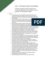 Resumen lecturas - Contratos civiles y mercantiles
