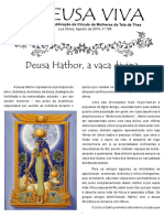 Deusa Hathor, a Vaca Divina