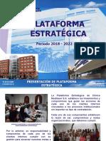 PLATAFORMA ESTRATÉGICA  2.0