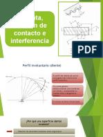 10. Involuta, Relación de Contacto e Interferencia