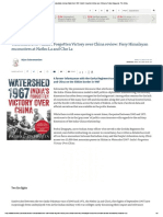 Arjun Subramaniam reviews Watershed 1967_ India's Forgotten Victory over China, by Probal Dasgupta - The Hindu.pdf