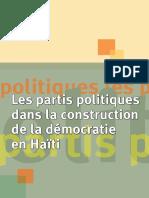 Les partis politiques  dans la construction  de la démocratie en Haïti