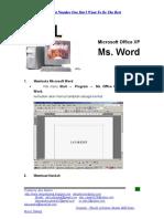 Modul Ms Word