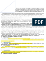 periodização - artigo