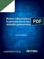 Retos editoriales de la prensa local en el mundo poscoronavirus