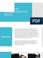 CENTROS DE ESCUCHA Y GRUPOS DE APOYO