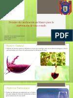 Biomoléculas Proceso de Vinificación