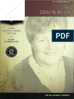 A Special Selection of 8 Original Piano Solos Carolyn Miller