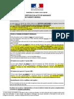 Transcription Acte Naissance Ambassade France Allemagne