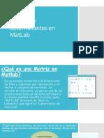 Matrices y determinantes en MatLab.pptx