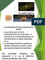 TRANSITOS PLANETARIOS-EXPOSICIÓN  NIVEL 2