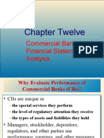 Ch 12_ Commercial Banks Financial Statements and Analysis - Anthony Saunders-5th edition