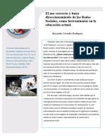 Articulo referenciado por el documento Asesoría en el uso de las TIC en la formación