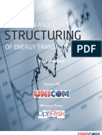 Valuation and Structuring of Energy Transactions