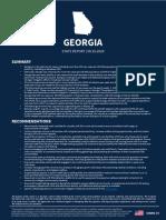Aug. 16 White House Georgia coronavirus report