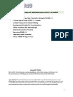 Covid-19 School Toolkit [Final 8.14.20] - GCHD