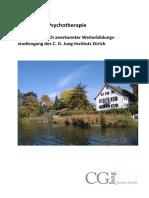 Broschüre Analytische Psychotherapie
