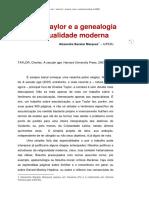 CharlesTaylorGenealogia_resenha-Alexandre_Bacelar