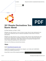 20 ubuntu derivatives you should know about