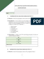 Pauta Cualitativa Nivel Morfosintáctico - N. Montoya
