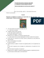 ACTIVIDADES DE REFUERZO VIRTUALES  DE CASTELLANO GRADO 8°