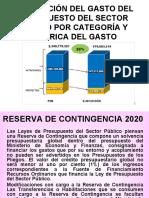 DISTRIBUCIÓN DEL GASTO DEL PRESUPUESTO DEL SECTOR PÚBLICO.ppt