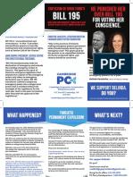 PC Cambridge association mailer