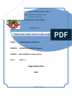 PRACTICA N° 3 ESTUDIO DEL TRACTOR AGRICOLA.....