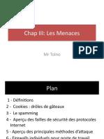 Chap III Menaces