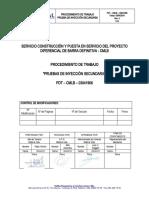 PDT-CMLB-03041906 Pruebas de Inyección Secundaria REV.0