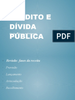 Crédito Público e Dívida Pública