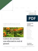 Cultivo de cártamo_ una alternativa real al girasol - Agromática.pdf