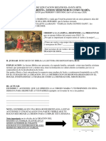 ED. RELIGIOSA QUINTA SESION CICLO VI PRIMERO Y SEGUNDO