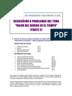 RESOLUCIÓN DE PROBLEMAS TEMA VDT (PARTE 2)