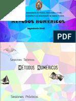 Catedra METODOS NUMERICOS (IC-343) - Ingenieria Civil UNSCH - Clase 01-2020.pdf