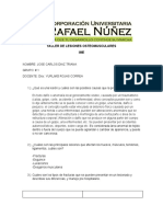 TALLER DE LESIONES OSTEOMUSCULARES