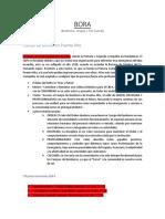 BORA PDF