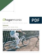 5 beneficios de hacer bicicleta - Hogarmania.pdf
