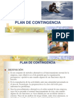 Semana 2 Plan de Contingencia