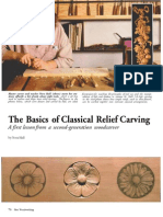 Basics Of Classical Relief Carving