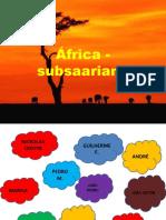 África - subsaariana