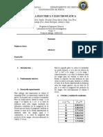 Informe_3_Fuerza electretica y electrostatica