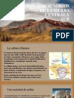 CC SS 1° - LECCIÓN 21 - Los señoríos de la sierra central y sur.pptx