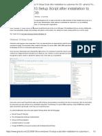 Run Windows 10 Setup Script after installation to customize the OS - gHacks Tech News