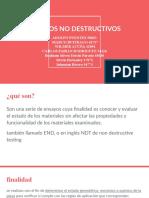 ENSAYOS NO DESTRUCTIVOS