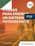 9 pasos para diseñar un sistema fotovoltaico