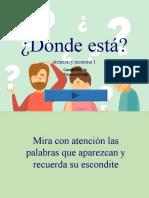 DONDE ESTÁ - MEMORIA Y ATENCION.ppt